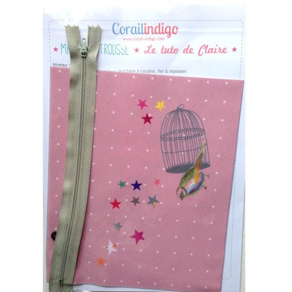 Kit de couture pour d butant une trousse pour petite for Trousse de couture pour petite fille