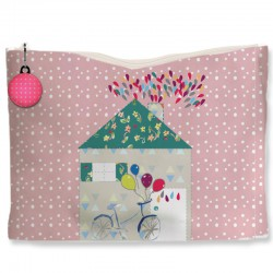 Kit trousse rose jolie maison