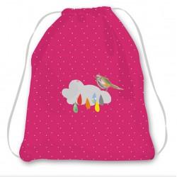 Kit sac enfant rose fuchsia nuage