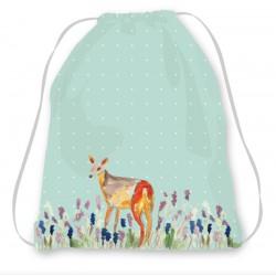 Kit sac enfant turquoise Biche