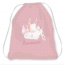 Kit sac enfant rose danseuse
