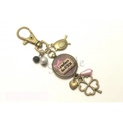 Porte clé  - Ma maîtresse est une princesse -