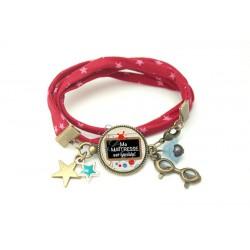 Bracelet liberty - A+ pour ma maîtresse -