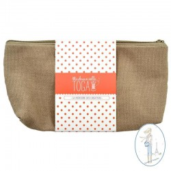 Trousse plate à customiser TOGGA - Taupe -