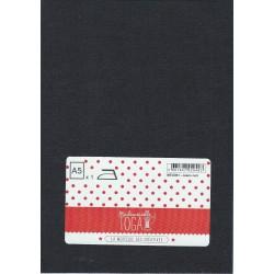 Tissu thermocollant jean - noir -