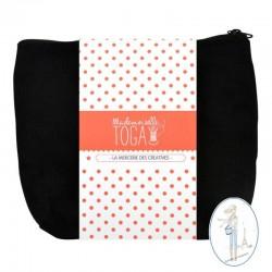 Petite trousse à soufflet à customiser TOGGA - Noir -