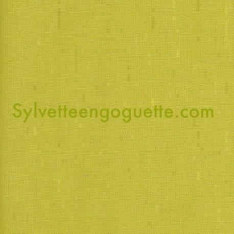 toile coton pais vert fenouil vendu par 25 cm. Black Bedroom Furniture Sets. Home Design Ideas