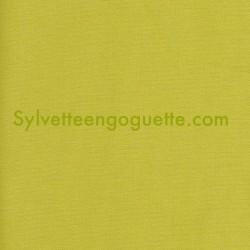 Toile de coton vert fenouil