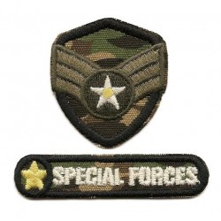 """Ecusson thermocollant militaire """"Special Forces"""""""