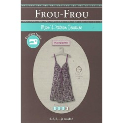 "Patron couture DIY Froufrou ""ma nuisette"""