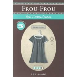 "Patron couture DIY Froufrou ""ma robe tunique"""