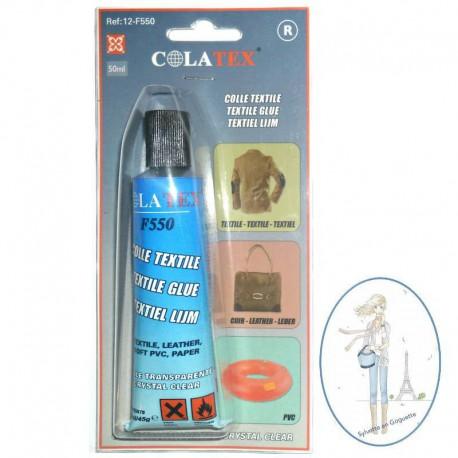 Colle pour tissu cuir simili cuir plastique 50ml - Colle pour plastique ...