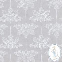 Toile cirée Au maison grise Lotus