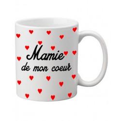 Mug Mamie de mon coeur