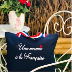 Sac coton - Une mamie à la française