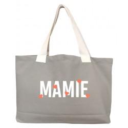 Sac coton - Mamie petit coeur