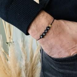 Bracelet prénom pour homme