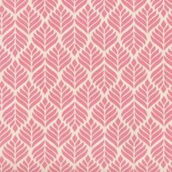 Toile cirée rose pêche TRIGO