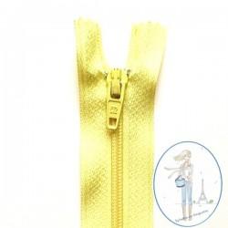 Fermeture éclair jaune citron 503
