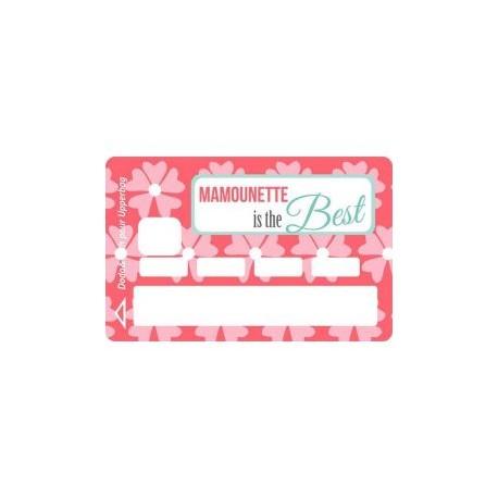 Sticker CB Mamounette is the best