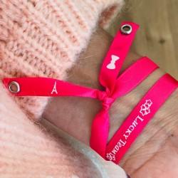 Bracelet satin - Je suis une maman de rêve