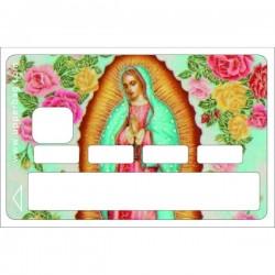 Sticker CB Santa Maria bleue
