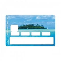 Sticker CB Summer Island