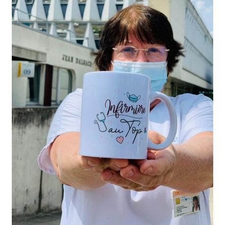 Mug Infirmère au top