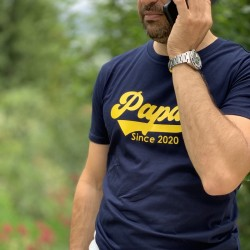 T-Shirt personnalisé Papa Since