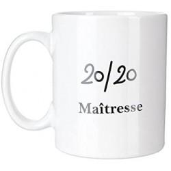 Mug 20/20 Maîtresse