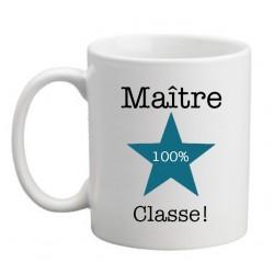 Mug Maître 100% Classe