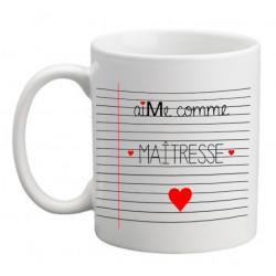 Idée cadeau Maîtresse Mug personnalisé