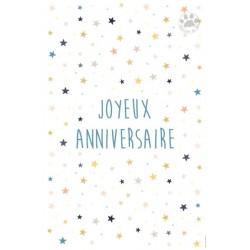 Carte à message joyeux anniversaire