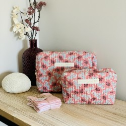 Trousse de toilette rose Neha
