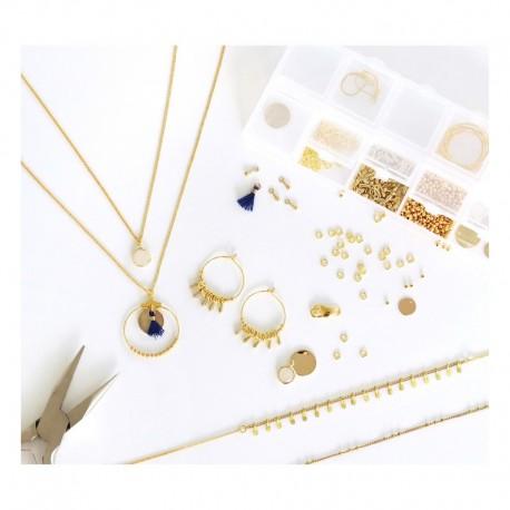 Kit bijoux : Mon atelier de bijoux OR