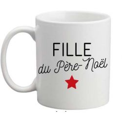 Mug Fille du Père Noël