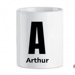Mug alphabet à personnaliser avec un prénom