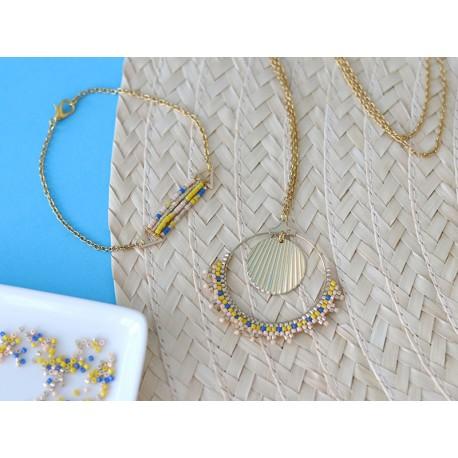 Kit bijoux : Mes bijoux en tissage birckstitch