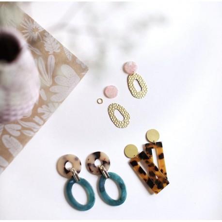 Kit bijoux : Ma maxi boucles d'oreilles
