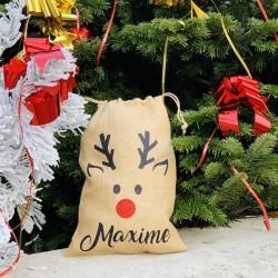 Sac à cadeaux de Noël personnalisé