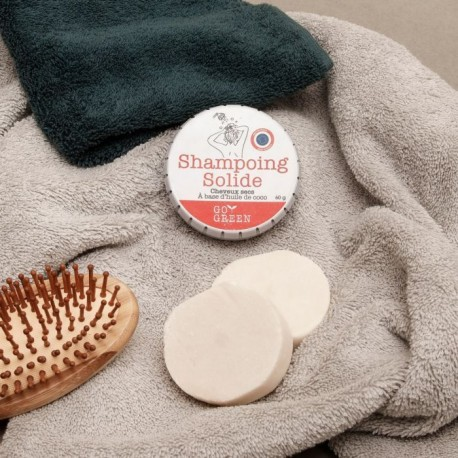 Shampooing solide coco cheveux secs
