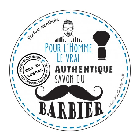 Savon à barbe naturel
