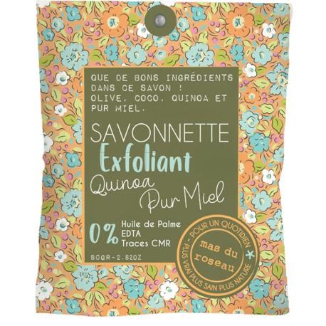 savon naturel exfoliant