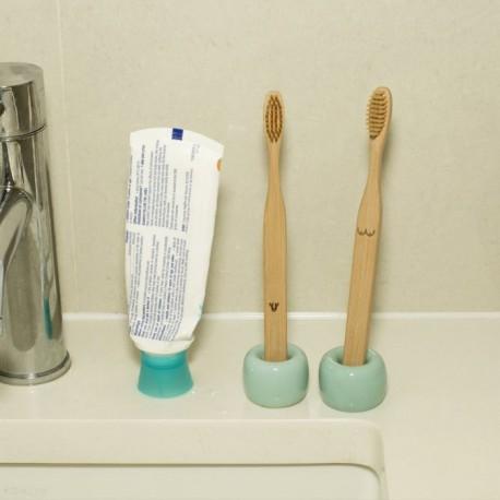 Duo de brosses à dents bambou Lui et Elle