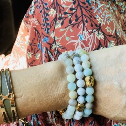 Bracelet perles de la confiance en soi - Jade