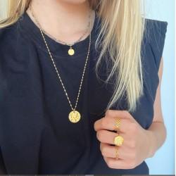 Collier OR médaille - Victoria