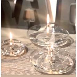 Lampe à huile ellipse lisse
