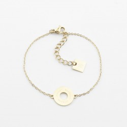 Bracelet OR médaille - maman