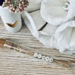Bracelet chaîne trombone or - maman
