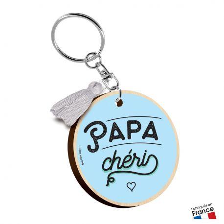 Porte-clés Papa chéri